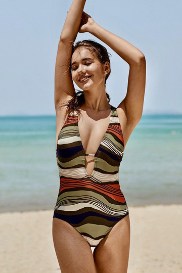 Midsummer Stripe One-Piece Swimsuit